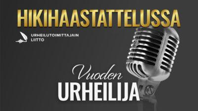 Hikihaastattelussa Vuoden urheilija -podcastin vieraana Aino-Kaisa Saarinen