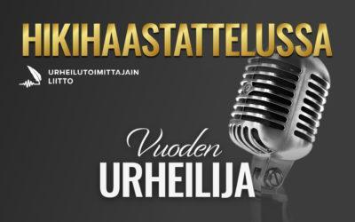 Hikihaastattelussa Vuoden urheilija -podcastin ensimmäisessä jaksossa vieraana Leo-Pekka Tähti