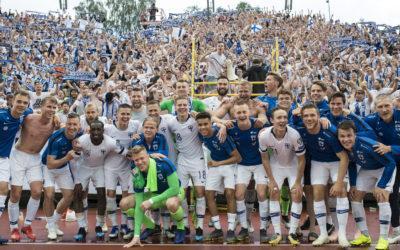 Vuoden joukkue 2019: Jalkapallon miesten A-maajoukkue