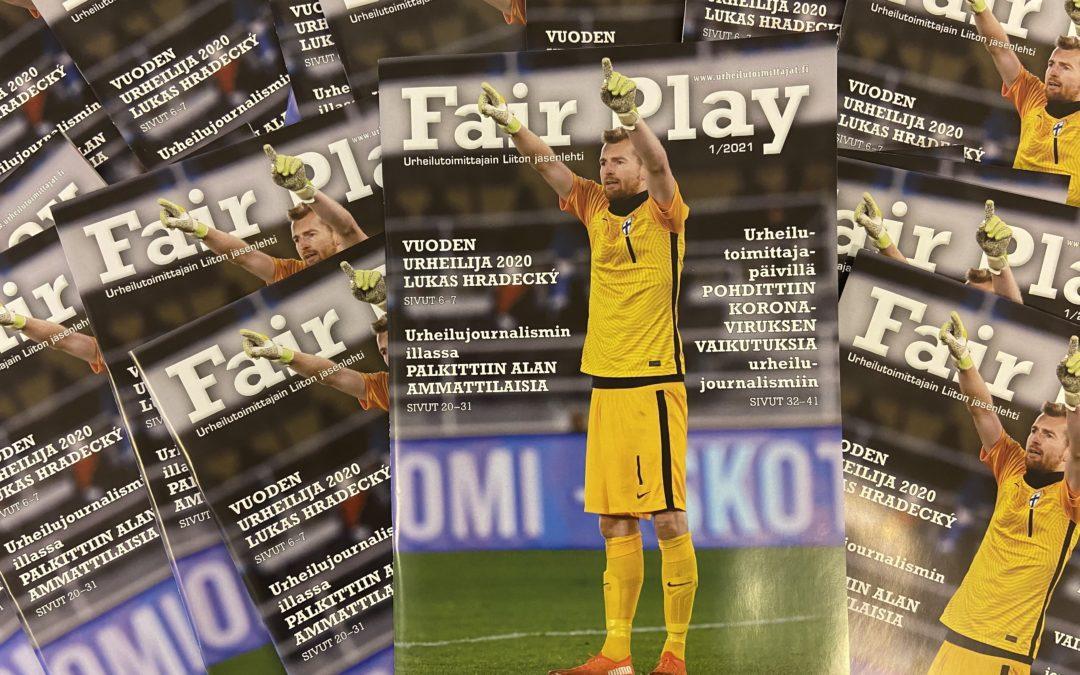 Uusin Fair Play -lehti on ilmestynyt!